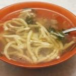 Суп- лапша с куриными потрохами