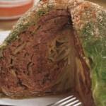 Молодая капуста,фаршированная мясом
