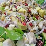 Салат из авакадо с сыром