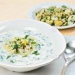 Суп из шпината от Анастасии Волочковой