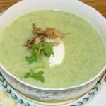 Суп-пюре из петрушки