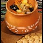Суп «хорда» с черносливом