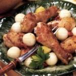 Курица с дынными шариками