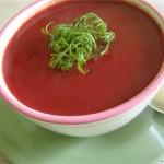 Свекольный постный крем-суп