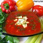 Холодный супчик из томатов