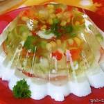 Заливное из овощей