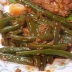 Зелёная фасоль по – китайски