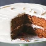 Морковный торт с глазурью