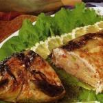 Рыба, фаршированная гречкой и грибами