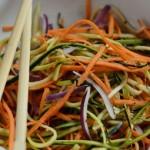 Салат из цукини с морковью и лимоном