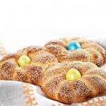 Хлеб пасхальный греческий