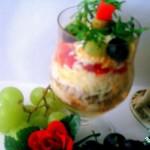 Салат из свеклы и риса