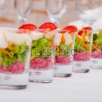 Рисовый салат с редисом
