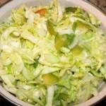 Салат с селёдочной заправкой