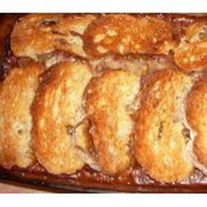 Кабачковый пирог с курицей