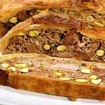 Пирог из мясного ассорти
