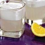 Сорбет лимонный с водкой