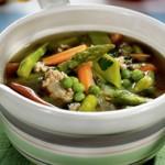 Суп из весенних овощей