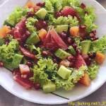 Салат из копчёной рыбы с яйцами