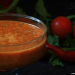 Соус к шашлыку из печёных перцев