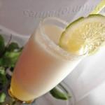 Лимонный сорбет с шампанским