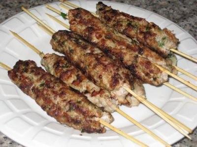 Люля – кебаб из говядины