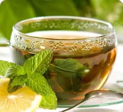 Чай из смеси мелиссы и мяты