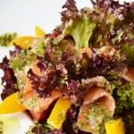 Красный овощной салат