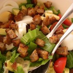 Салат цезарь по – гречески