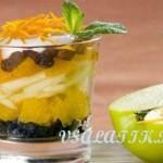 Салат – коктейль из фруктов