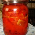 Болгарский перец в меду