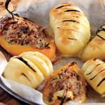 Перец, фаршированный тунцом, с картофелем