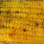 Печёная кукуруза с прянностями