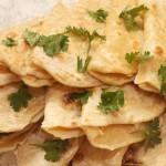 Татарские лепёшки (кыстыбый) с картофельным пюре