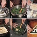Турецкие лепёшки со шпинатом и брынзой