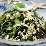 Морская капуста с пряным рисом басмати