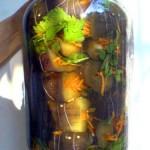 Фаршированные морковью и луком баклажаны