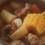 Кукурузная похлёбка со свининой