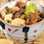 Овощное рагу с бараньими рёбрышками