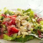 Крабовый салат с куриным филе