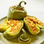 Перцы, фаршированные тофу