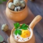 Жюльен из перепелиных яиц