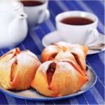 Яблоки в слоёном тесте