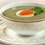 Щавелевый суп – пюре