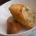 Багет с креветочным маслом