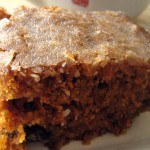 Морковный кекс в глазури