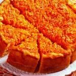 Морковный пирог (открытый)