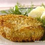 Рыбные котлеты в хлебной панировке