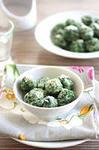 Творожные ньокки со шпинатом для детского ужина
