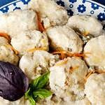 Рыбные фрикадельки с соусом из сметаны
